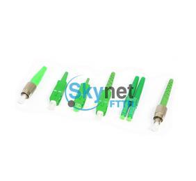 SK SM SC FC LC Fiber Connector APC OS1 OS2 Single Mode Fiber Connectors