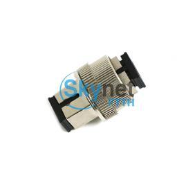 SK Adjustable SC Single Mode Fiber Attenuator For SC Fiber Optic Patch Cord