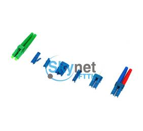 SK Multimode LC Fiber Optic Connector with PC UPC APC Polishing Fiber Ferrule