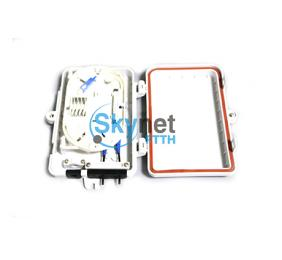 SK FTTH Mini Outdoor Fiber Optic Distribution Box 1x4 PLC