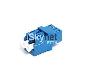 SK Blue Duplex Fiber Optic Adapter High Return Loss Lc To Lc Adapter