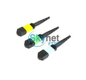 SK 12 Core MPO / MTP Fiber Optic Connector for Fiber Patch Panel