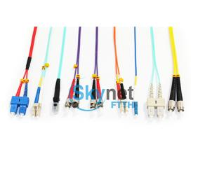 SK MU MTRJ Single Mode Patch Cord / Duplex Multimode Fiber Optic Cable