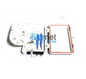 SK 4 Core Fiber Optic Distribution Box For Outdoor FTTH Drop Cable Optical Termination Box