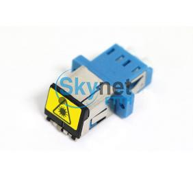 SK Flangeless Fiber Optic Adapter with Shutter for Optical Passive Device
