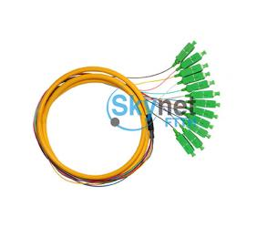 SK Bundle Fiber Optic Pigtail for CATV Network with Multimode SC Connectors
