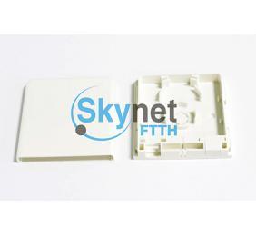 SK Slidable FTTH Fibre Optic Termination Box For Singlemode / Multimode Fiber