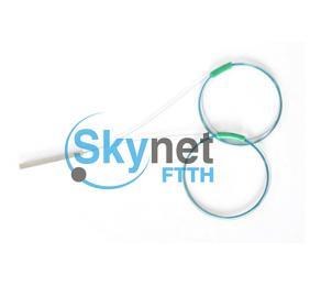 SK 2x4 PLC Fiber Optic Coupler Splitter For CWDM System With 250um Bare Fiber