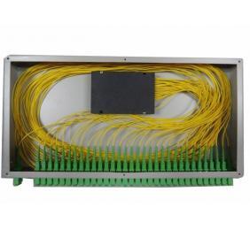 SK 1x16 PLC Optical Fiber Splitter For Rack Mounted Fiber Terminal Box