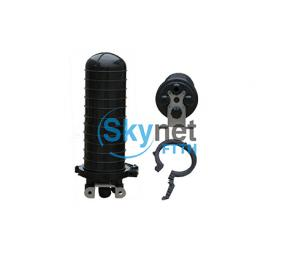 SK 96 core Vertical Fiber Optic Splice Closure with 4 Holes and 1 Oval Hole
