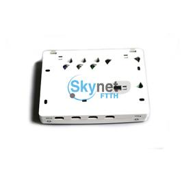 SK Wall mounted SC UPC APC Fiber Optic Terminal Box with ABS PC Material FTTH