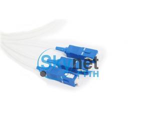 SK SC Fiber Optic Pigtail Single Mode With UPC APC Polishing Fiber Ferrule
