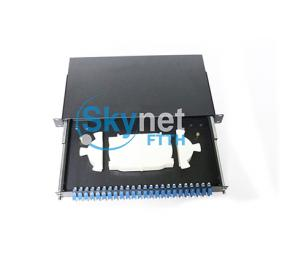 SK 12 Duplex Port Fiber Optic Terminal Box with 19 Inch Standard Structure