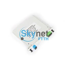 SK SC Connector Singlemode Fiber Optic Splitter with Plastic Small Box