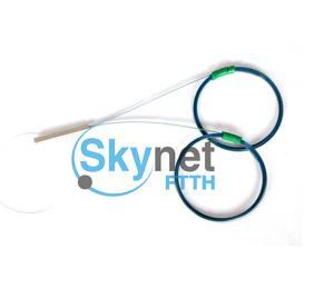 SK 2*32 PLC Fiber Optic Splitter For FTTH Network , Optical Fiber Coupler