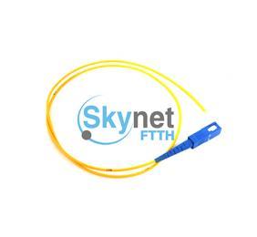 SK SC Single mode Fiber Optic Pigtail with UPC APC Polishing Fiber Ferrule