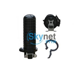 SK Vertical Fiber Optic Splice Enclosure With Heat Shrinkable Sealing Structure