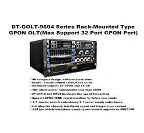 SK-GOLT-9604 Series Rack-Mounted Type GPON OLT(Max 32Port)-Layer 3