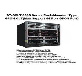 SK-GOLT-9608 Series Rack-Mounted Type GPON OLT (Max 64 Port )-Layer 3